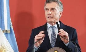 Macri arrancó la semana con una conferencia de prensa en Casa de Gobierno