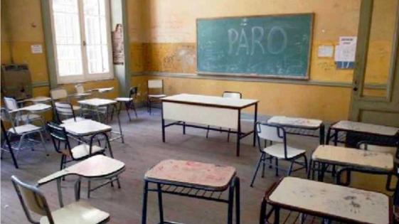 Convocan a paro docente para el 24 y 25