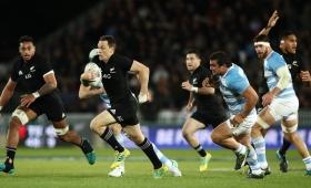 Los Pumas perdieron con Nueva Zelanda