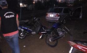 Garupá: secuestraron motos mal habidas en un aguantadero