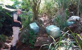 """""""Narco Embarcación"""": incautaron 75 kilos de marihuana en Iguazú"""