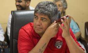 El juez rechazó el pedido de detención de Pablo Moyano
