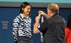 Delfina Pignatiello logró otra medalla para Argentina
