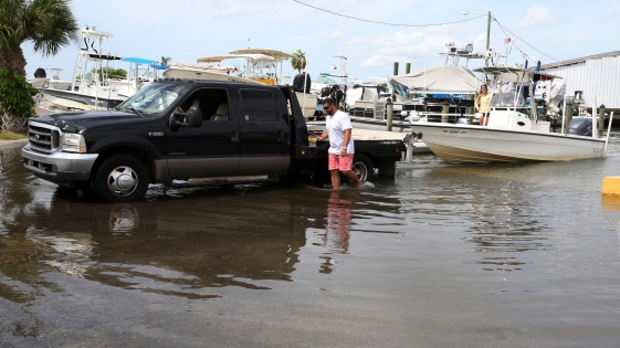 El Huracán Michael tocó tierra en Florida