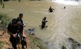 Hallaron el cuerpo del joven desaparecido en el Mbocay