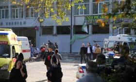 Al menos 19 muertos y 40 heridos por ataque a un colegio de Crimea