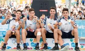 La Selección Argentina masculina de básquet 3×3 ganó la medalla de oro