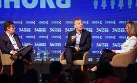 """Macri: """"Me frustra ver a dirigentes que le mienten a la gente"""""""