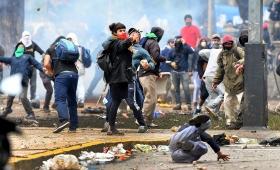 Incidentes frente al Congreso: 27 detenidos y 9 policías heridos
