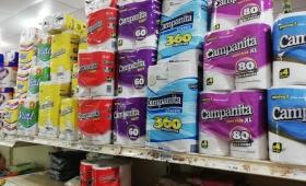 Papel higiénico, entre los productos con más aumento