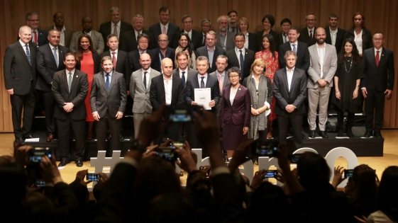 """Macri: """"las cosas van mejor en el mundo"""""""