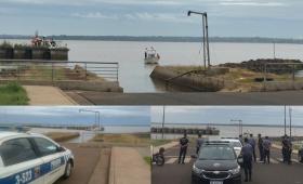Los detalles de la búsqueda en el río Paraná