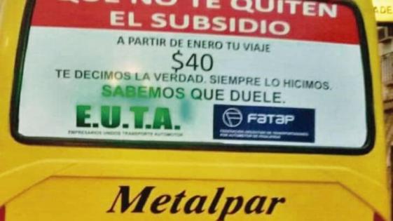 """Subsidios al transporte: """"Los empresarios quieren dar lástima"""""""