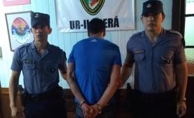 Campo Viera: fue detenido por agredir y amenazar a su concubina