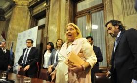 Carrió renunció a la presidencia de la bicameral de control de fiscales