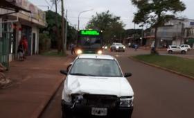 Choque en Chacabuco y Zapiola