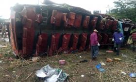 Cincuenta y ocho muertos por un accidente de autobús en Kenia