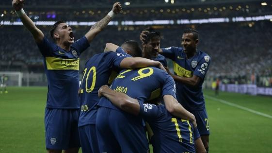 Boca pasó al Palmeiras y jugará la final con River
