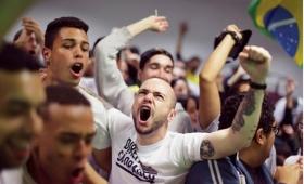 Brasil: dos muertos por infartos y 17 detenidos