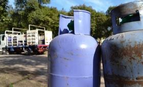 Gas: a domicilio, la garrafa costará 400 pesos