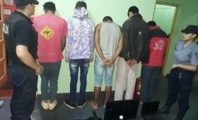 Roca: 7 detenidos por el robo en viviendas rurales