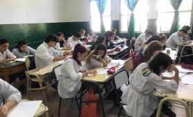 Estudiantes fueron evaluados en Seguridad Vial