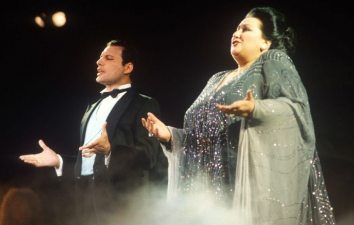 Murio La Soprano Espanola Que Deslumbro Junto A Freddie Mercury