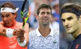 Nadal, Djokovic y Federer se mantienen en el podio mundial