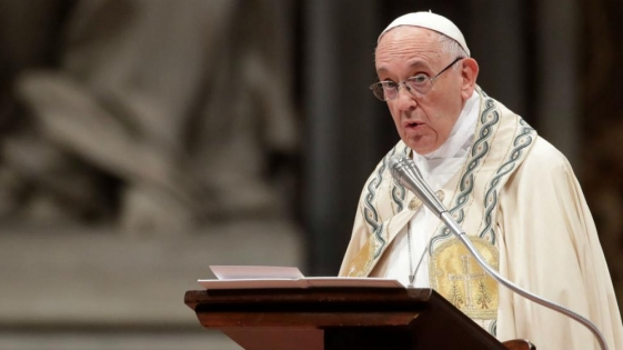 "El Papa denunció que ""falta voluntad política"" para combatir el hambre"