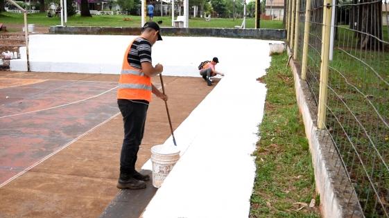 Vecinos consiguieron mejoras en el barrio Las Terrazas