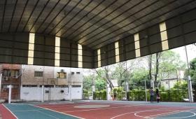 Actividades en el polideportivo de la Chacra 32-33