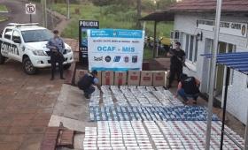 La Policía secuestró 450 gruesas de cigarrillos