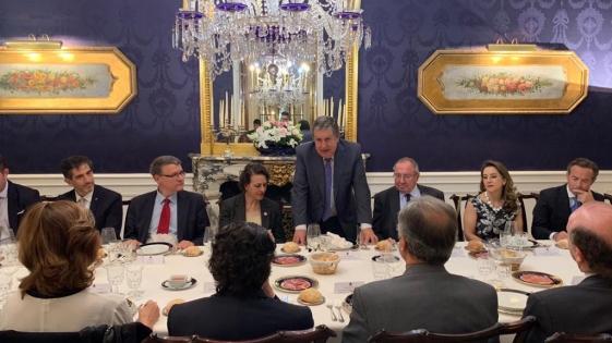El embajador Puerta recibió a Dante Sica en Madrid