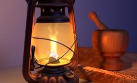 Sin luz eléctrica en la Picada Chafariz