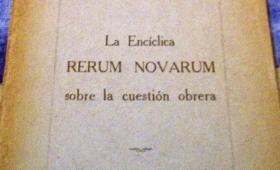 Una encíclica papal en el origen del peronismo