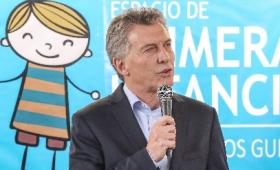 """Macri inauguró """"La Casa de los Gurises"""" en Oberá"""