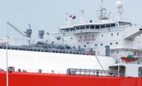 Partió el último buque que inyectaba gas importado