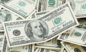 El dólar cayó a $38,55