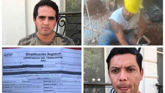 Obreros denuncian estafa de una empresa de telefonía móvil
