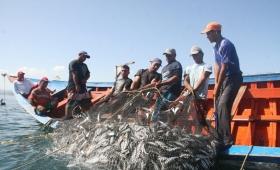 Crece la pesca con apoyo financiero de la Nación