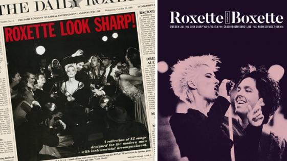 "Roxette reeditan ""Look Sharp!"""