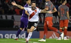 River goleó a Independiente y se metió en semis