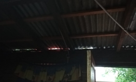 Madre sola perdió todo por la tormenta en San Isidro