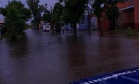 Evacuados por desborde de arroyos en Corrientes
