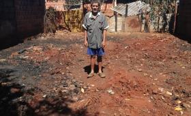 Volvió de trabajar y su casa estaba quemada
