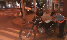 La policía retuvo 53 motos y 9 autos en Oberá