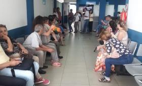 Asamblea de trabajadores del laboratorio del IPSM