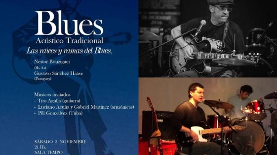 El Blues llega a Sala Tempo