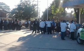 Corrientes vive un día tenso sin colectivos urbanos