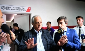 D´Onofrio dijo que la AFA no defendió al fútbol argentino en la Conmebol